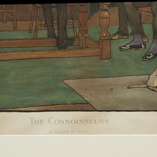 The Connoisseurs by Cecil Aldin