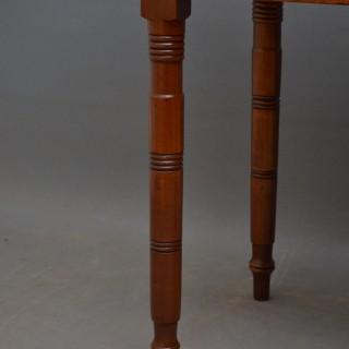 Regency Work Table in Mahogany