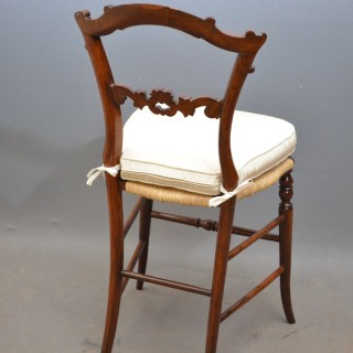 Set of 6 Early Victorian Chairs in Rosewood