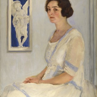 Portrait of Mrs Tom Mostyn