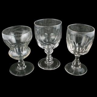 Ten early 19th Century Rummers