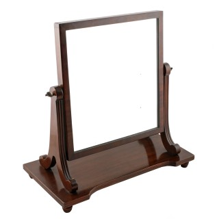 Mahogany 'Gillows' Style Dressing Glass