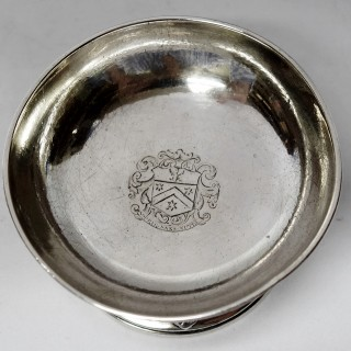 Antique George II Silver Trencher Salt