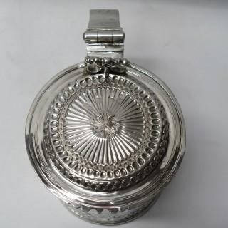 Charles II Silver Lidded Tankard