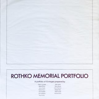 The Rothko Memorial Portfolio