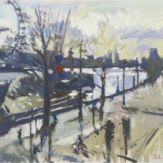 Victoria Embankment by Luke Martineau