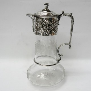 Antique Silver Claret Jug