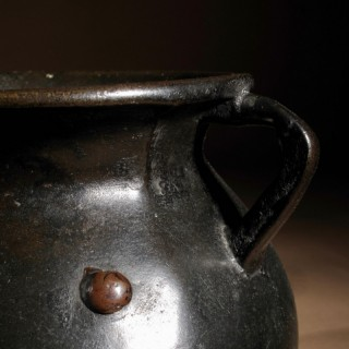 Early Bronze Small Cauldron Medieval 14/15th Century