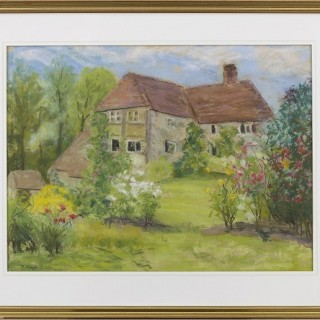 The Cottage at Treyford by Paul Maze DCM MM (1887-1979)