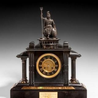 Historically important Royal Presentation clock
