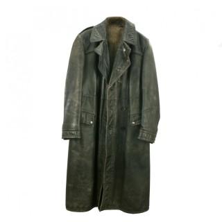 Full Length Leather Coat