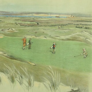 Westward Ho! Golf Print