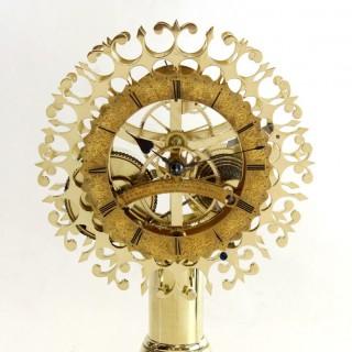 Three-Month duration English Skeleton Clock