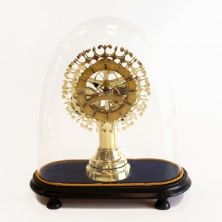 Three-Month duration English Skeleton Clock