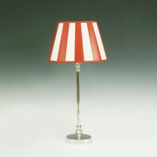 Metal Oval Table Lamp.