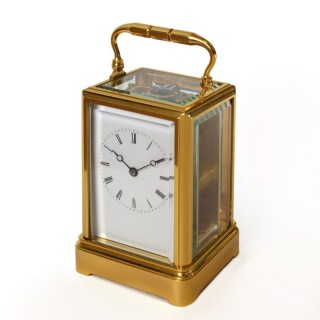 Drocourt one-piece carriage clock