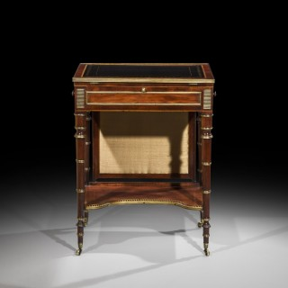 Fine George III Mahogany  Writing Table attributed to John McLean