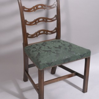 Georgee III Cuban Mahogany Ladderback Chair