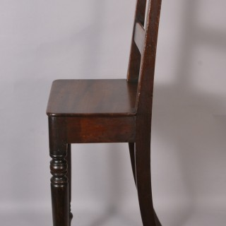 Regency Period Mahogany Child's Highback Chair