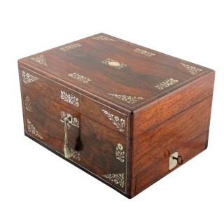 Victorian Jewellery Dressing Box