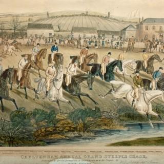 Cheltenham Grand Steeple Chase Etchings