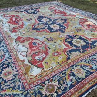 Antique Ziegler carpet, 17th Century Polonaise design