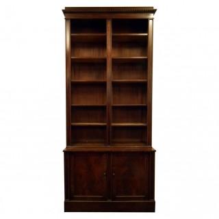 Mahogany Open Bookcase by William Trotter of Edinburgh