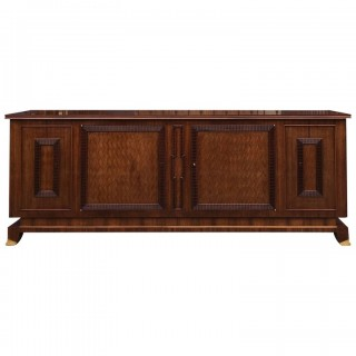 Important Art Deco Sideboard by Jules Leleu