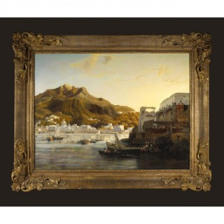 LACCO ILE ISCHIA – OIL ON CANVAS