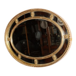 Regency Style Gilt Wood Mirror