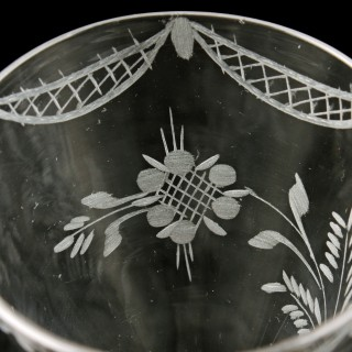 18th Century Georgian Gin Glass