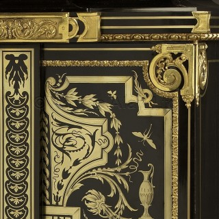 A Gilt-Bronze Mounted 'Boulle' Petite Armoire