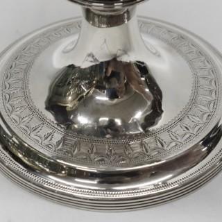 Georgian Silver Wine Ewer