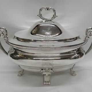 George III Silver Tureens by Paul Storr