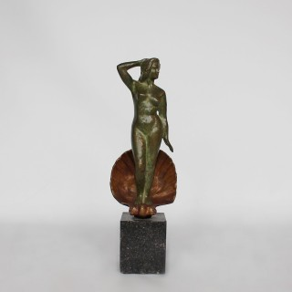 Art Deco Bronze Venus