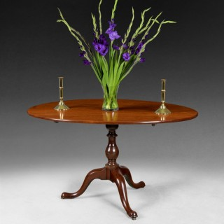 Mid 18th centurey Oval Mahogany Breakfast Table