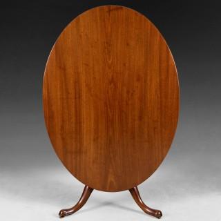 Mid 18th centurey Oval Mahogany Breakfast Table