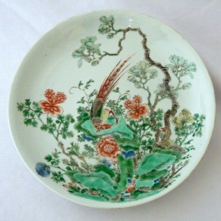 kangxi - Early 18th Century Chinese- Famille Verte Plate
