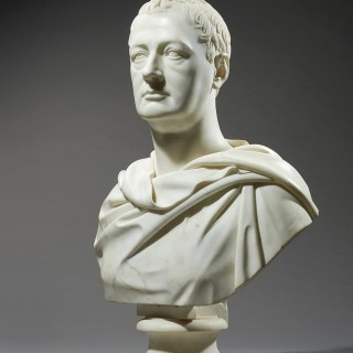 Fine Neoclassical Marble Portrait Bust