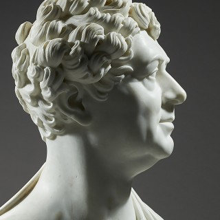 Important Royal Portrait Bust of George IV