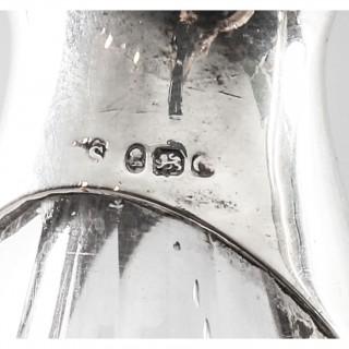 Antique English Silver Condiment Cruet Set Paul Storr 18th C