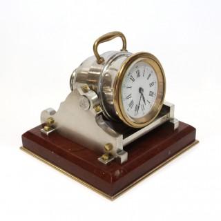 Mortar Clock from Guilmet's Industrial Series