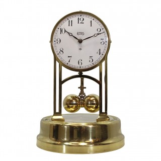 American Electric Torsion clock - Tiffany Never Wind