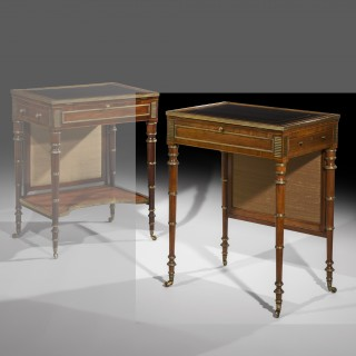 Fine Regency Rosewood Writing Table attributed to John McLean