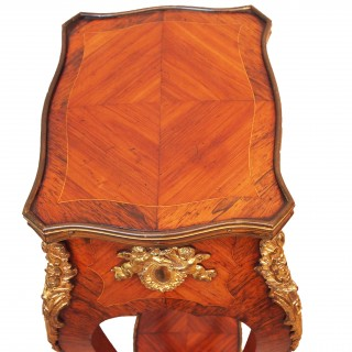Antique 19th Century Kingwood Occasional Table