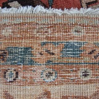 Antique Serapi rug