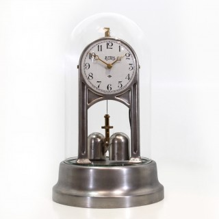 American Silver Electric Torsion Clock