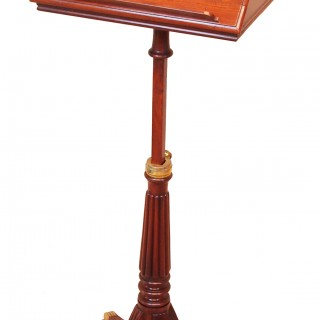 Antique Regency Mahogany Music Stand