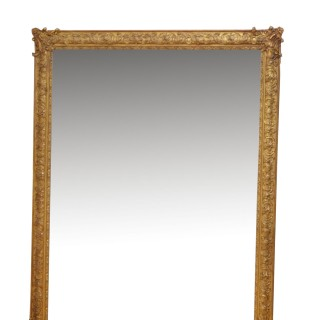 Antique 19th Century Gilt Wall Mirror