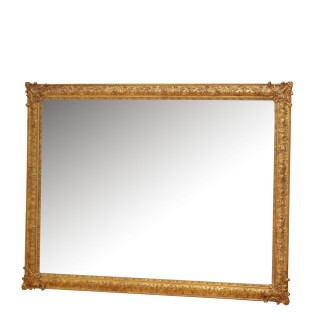 Antique 19th Century Gilt Wall Mirror